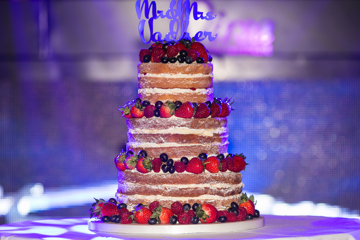 A Picture of the naked cake